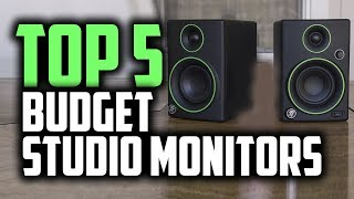 Best Budget Studio Monitors & Speakers in 2019 [Our Top 5 Picks]
