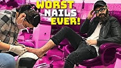 Going Back To The Worst Reviewed Nail Salon In My City! (1 STAR)
