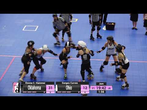 WFTDA Roller Derby - Division 2, Pittsburgh - Game 19 - Oklahoma vs. Ohio
