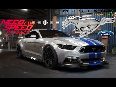 Need For Speed Payback Ford Mustang Gt Vehicle Customization