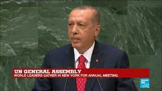 UN General Assembly: Watch Turkish president Erdogan's full address