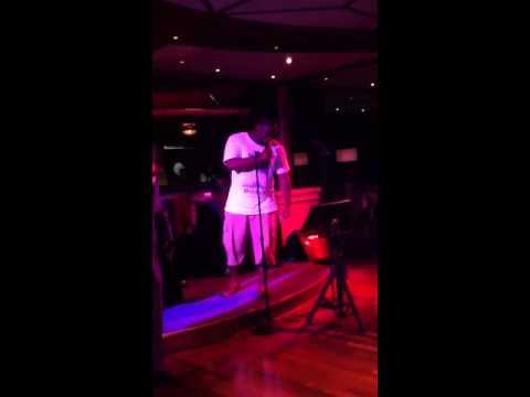 Ant78 sings karaoke on the cruise