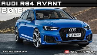2018 AUDI RS4 AVANT Review Rendered Price Specs Release Date