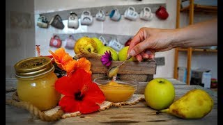 Como hacer mermelada de pera y manzana /RECETA CASERA  #mermelada #bunch Nati recetas caseras