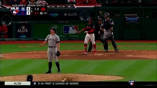 Francisco Lindor Grand Slam vs Yankees | Indians vs Yankees Game 2 ALDS