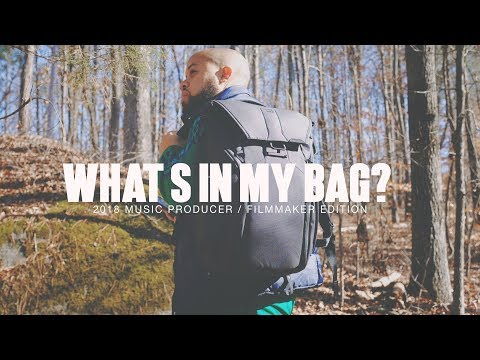 What's In MY BAG? Music Producer/Filmmaker Edition (FREE GIVEAWAYS)