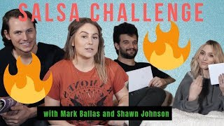 Salsa Challenge with Mark Ballas + Shawn Johnson + BC Jean + Andrew East
