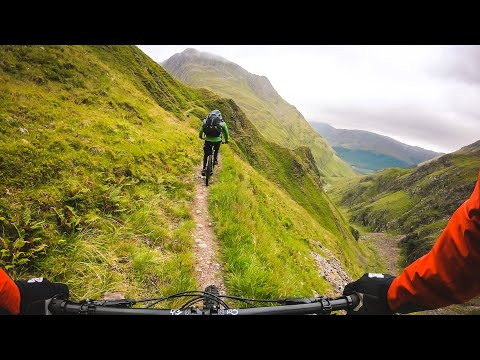 Are these the best mountain biking trails in the UK?! Torridon / Beinn Fhada, shot on GoPro Hero 7