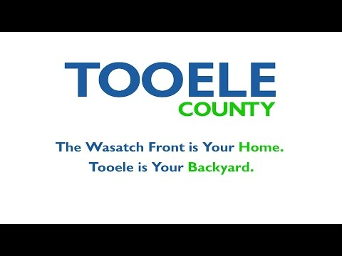 Tooele County Utah: The Wasatch Front's Backyard