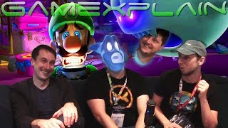 Playing Luigi's Mansion 3 with Treehouse's Nate Bihldorff + Q&A