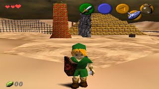 Shifting Sand Land In Ocarina Of Time