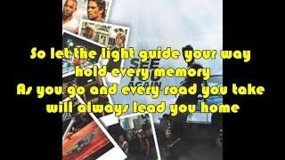 Lirik Lagu Wiz Khalifa -  See You Again FULL HD