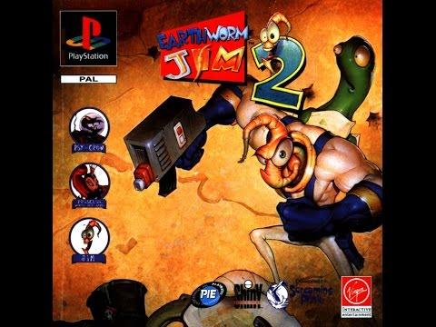 Earthworm Jim 2 Прохождение (PS1 Rus)