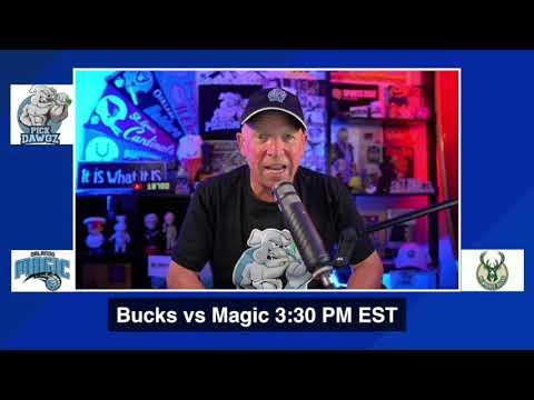 Milwaukee Bucks vs Orlando Magic 8/29/20 Free NBA Pick and Prediction NBA Betting Tips