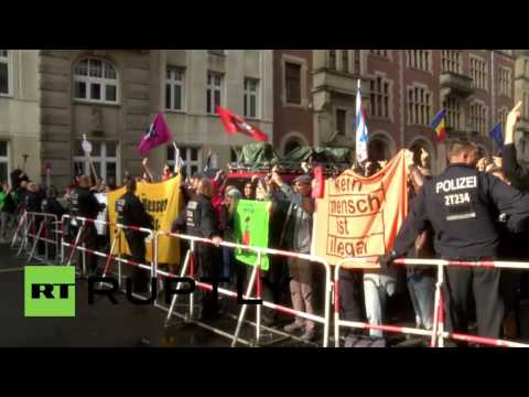 Germany: Far-right youth met with fierce opposition in Berlin