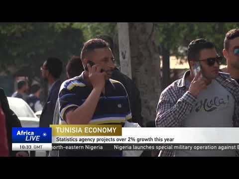 Tunisia's statistics agency expects the country's economy to grow by over 2%