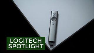 Logitech Spotlight - thiết bị trình chiếu kiêm con trỏ
