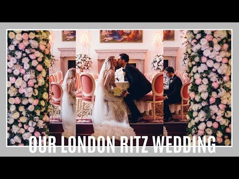 OUR LONDON RITZ WEDDING! PARIS AND CHOU SAY I DO, ROUND TWO! | IAM CHOUQUETTE WEDDING