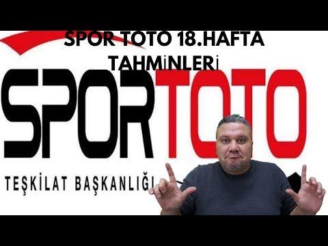 Spor Toto 18.hafta iddaa tahminleri/iddaabilir TV