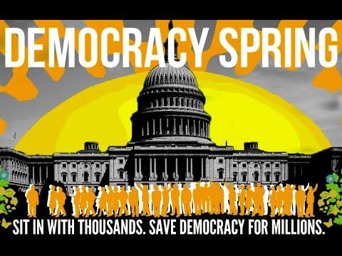 Mark Taylor-Canfield/Tulsi Gabbard - Mass Civil Disobedience Planned Washington DC: Jeff Santos Show