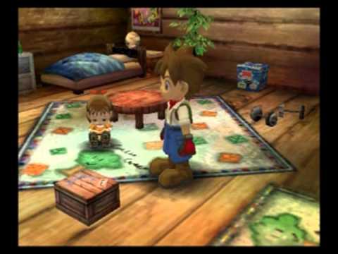Harvest Moon AWL:SE- Daughter Finds Treasure Box