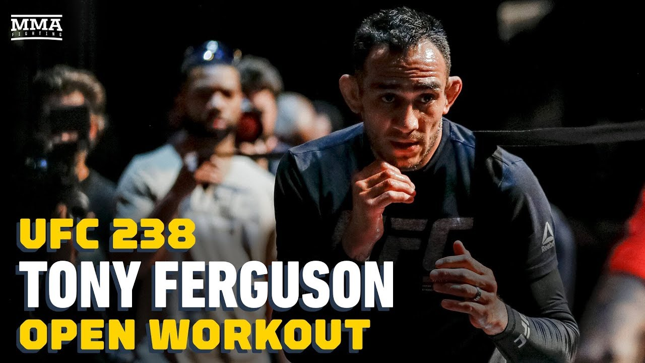 UFC 238: Tony Ferguson Open Workout Highlights - MMA Fighting