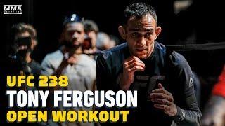 UFC 238: Tony Ferguson Open Workout Highlights - MMA Fighting