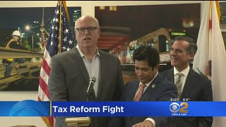 2017-11-28-04-20.Mayor-Garcetti-Joins-House-Dems-To-Decry-GOP-Tax-Plan-As-Immoral-A-Scam-