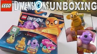 Lego Dimensions Adventure Time Team Pack Unboxing - Jake, Lumpy Space Princess, BMO