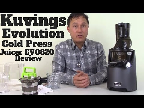 Kuvings Evolution Cold Press Slow Juicer EVO820 Detailed Review