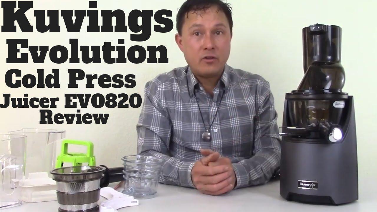 Kuvings whole slow juicer EVO 820