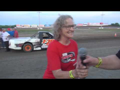 I 35 Speedway 7 27 19 Bike  I 70 Racers Makeup E ModsPure Stocks Old Timers Mains
