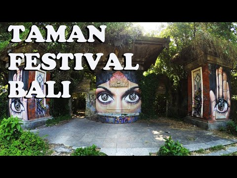 Заброшенный парк Тамань Фестиваль (Taman Festival) в Сануре   БАЛИ   НАШЛИ ИСТОЧНИК КОРОНАВИРУСА