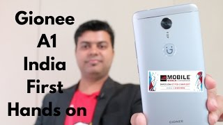 Gionee A1 India Hands on, Features, Camera, Hindi | Gadgets To Use