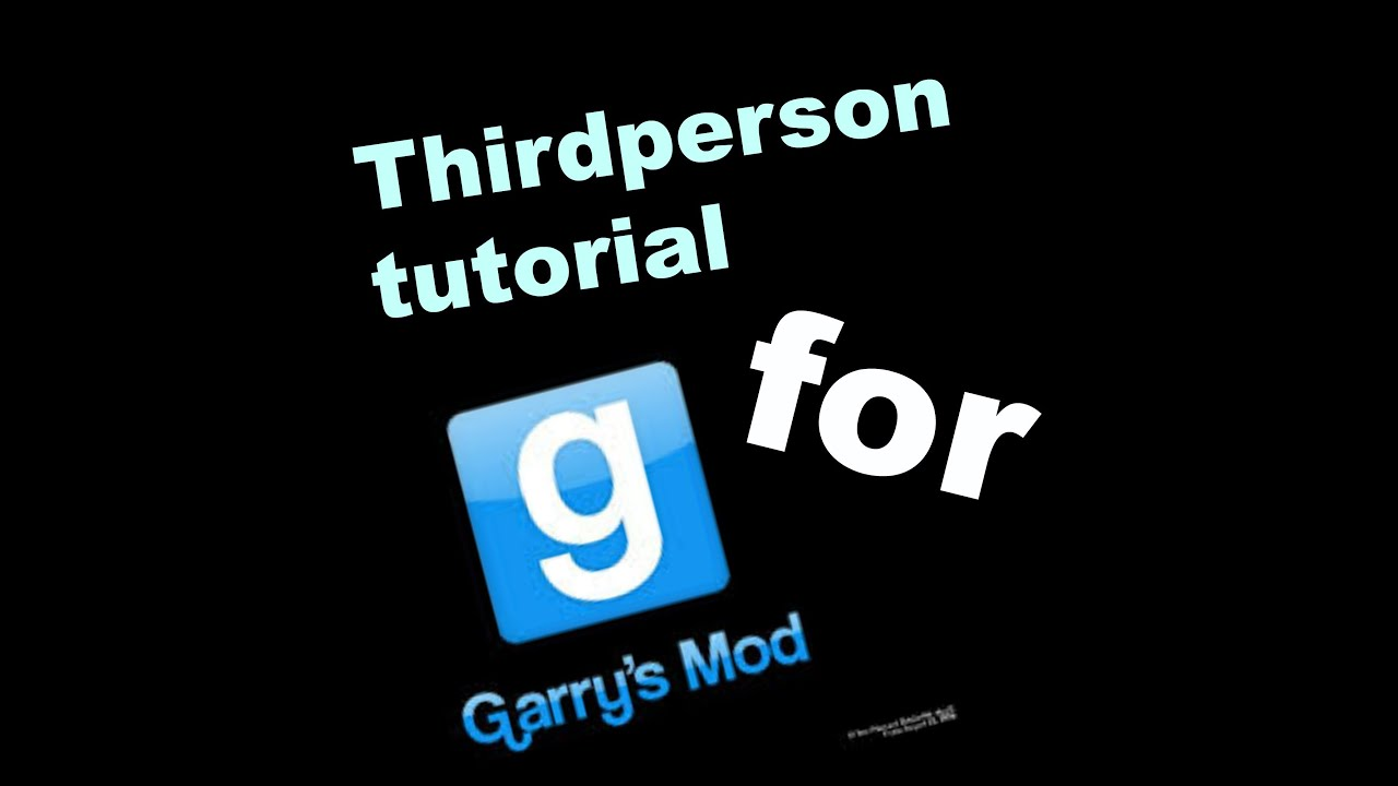 how to create a bind for third person in gmod