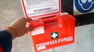 Аптечка на будове, Польша, Свиноуйстье(Едем на работу в Польшу., 2016-05-30T07:53:04.000Z)