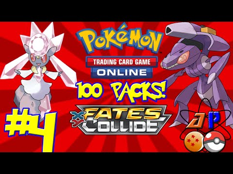 Pokemon TCGO | 100 Fates Collide Packs! | Part 4 | AtomPunk