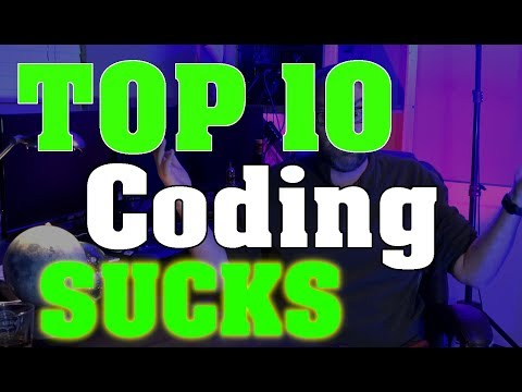 Top 10 Worst Things about Programming