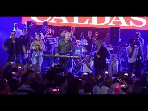 La DanDen de cuba concierto en Living Night Club Cali