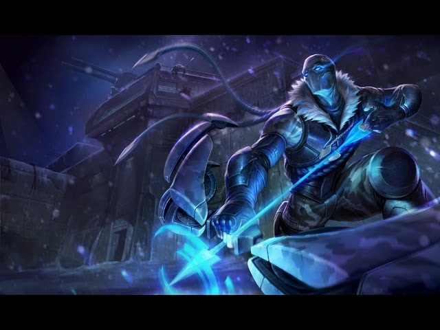 League of Legends - Arctic Ops Varus AD Carry - Full Game