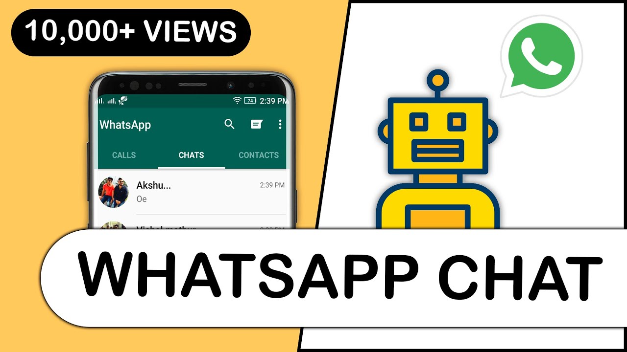 WhatsApp Chatbot | How to make simple Whatsapp Chatbot | Priyank