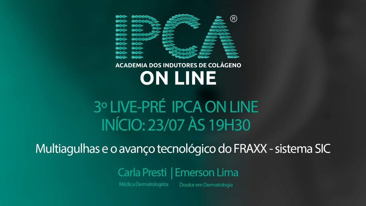 LIVE 03 - PRÉ-IPCA ONLINE - Sistema SIC , o novo avanço tecnológico do FRAXX