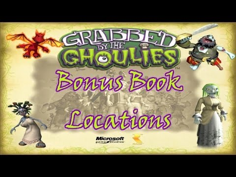 Grabbed By The Ghoulies Bonus: All Book Locations
