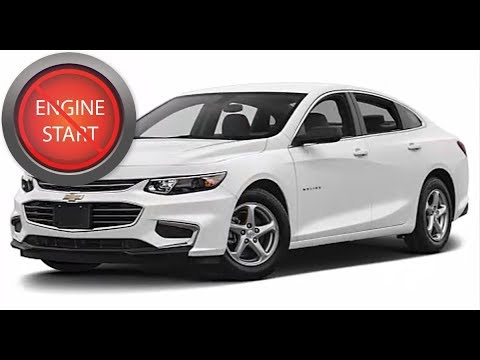 Chevrolet Malibu Open And Start The Push On Model With A Dead Key Fob Battery
