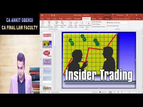 Insider Trading by Ankit Oberoi