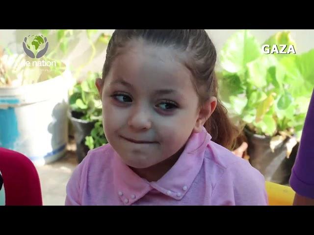 Khowsar and Tamanna - Wedding day favours Gaza