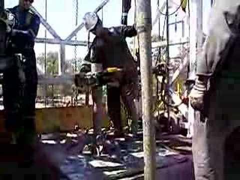 oil drilling rig 34 ensign australia