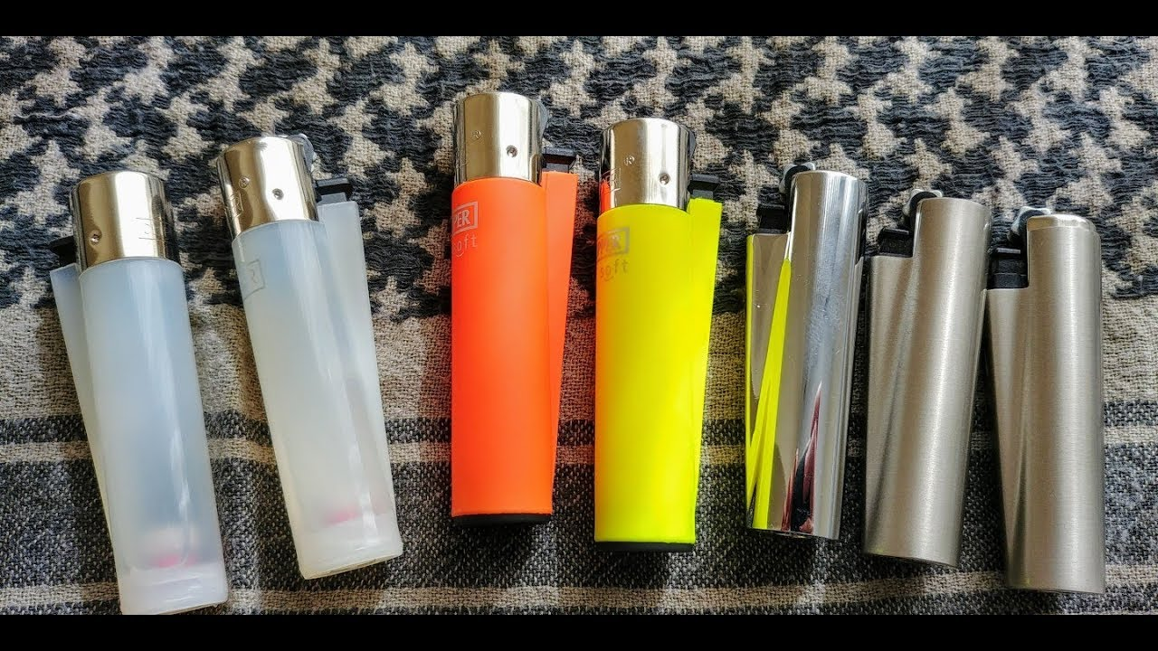Clipper Lighers Very Cool Refillable Lighters Youtube