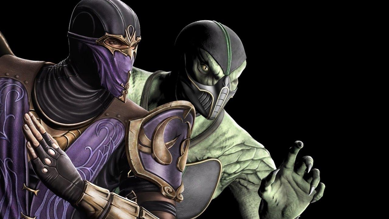 Mortal Kombat 9 - Rain/Reptile Tag Ladder (EXPERT) - YouTube
