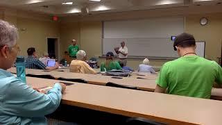 NASK 2019: Instruisto Seminario, July 3, 2019, Raleigh, NC
